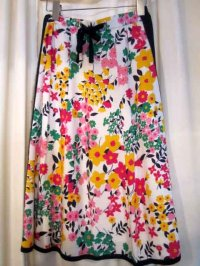 """Flower"" レトロスカート[1026]"