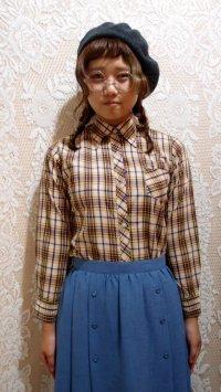 ボタンダウンチェックシャツ[5080]