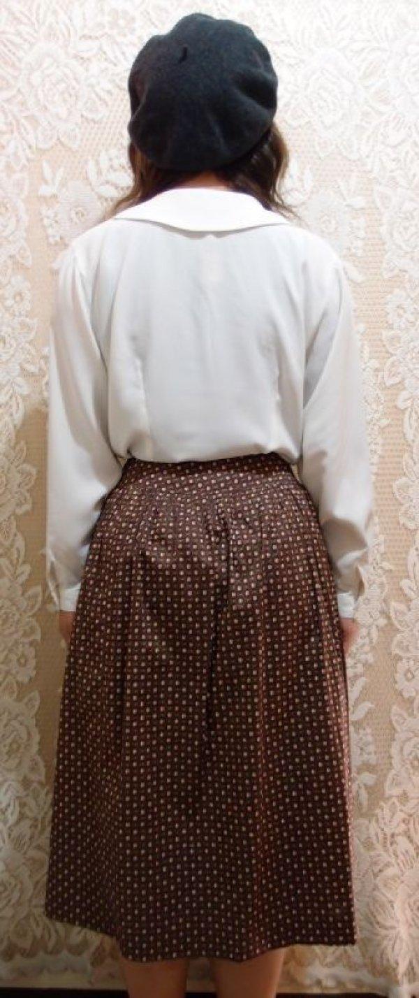 画像3: ソレイアード柄スカート [5089]