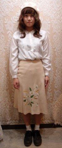 刺繍入りスカート[41154]