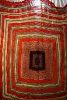 他の写真1: 昭和レトロ ニットこたつカバー180×180cm [1167]