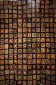 画像2: かぎ針編みモチーフ ベッドカバー ブランケット 180×180cm [1170] (2)