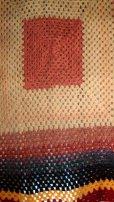 画像2: かぎ針編みモチーフ ブランケット 190×190cm [1136] (2)