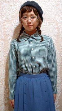 ギンガムチェックシャツ[5096]