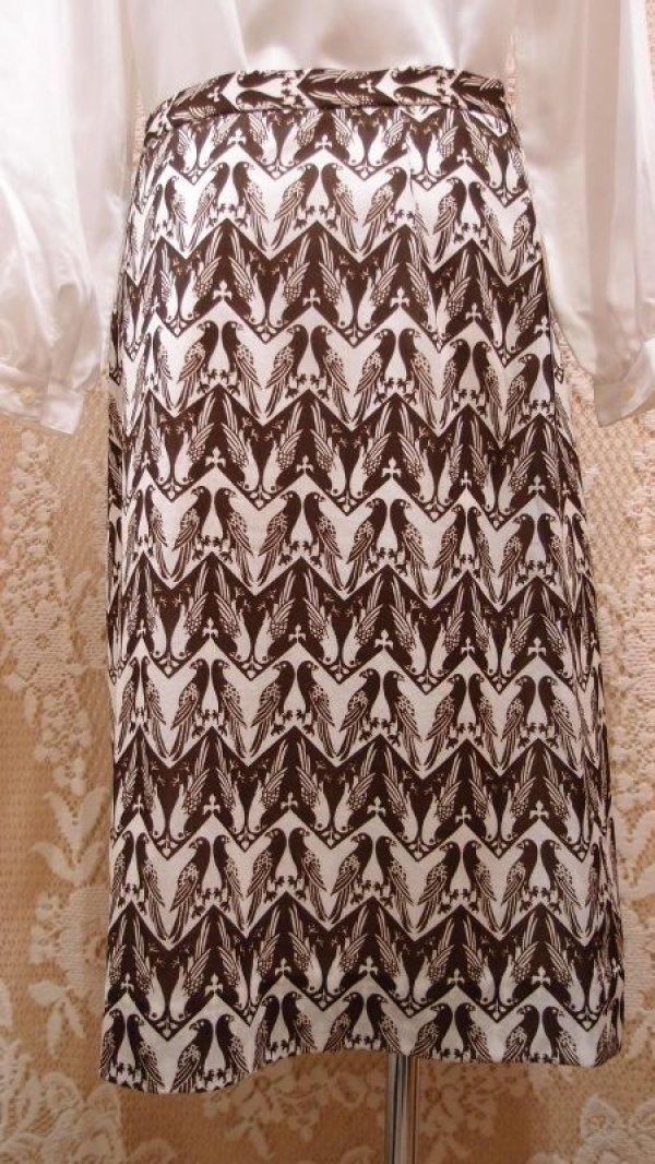 画像5: 番い雉柄スカート [1118]