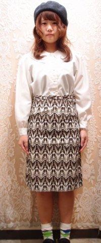 番い雉柄スカート [1118]
