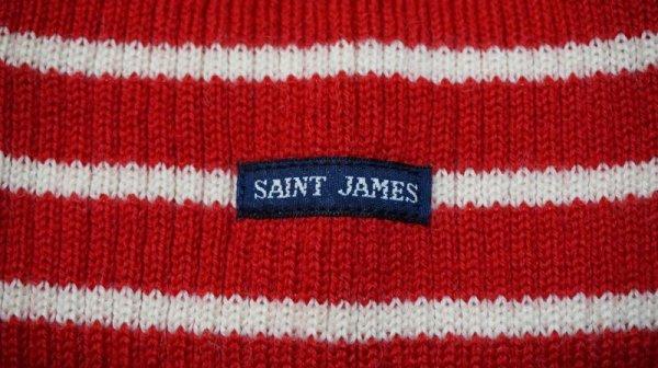 """画像4: """"Saint James"""" """"ボーダー柄  ニットセーター〔5065〕"""