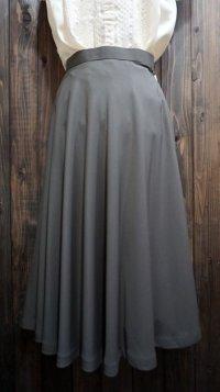 無地 グレー スカート/w69cm[41306]