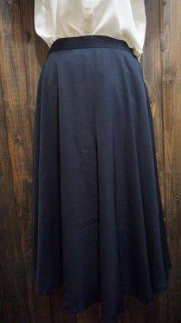 無地 ネイビー スカート /w64cm [41541]