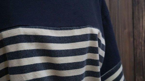 画像3: ボーダー柄 半袖 プリント Tシャツ [1030]