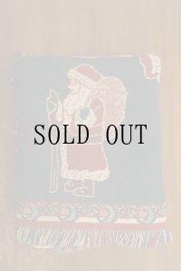 サンタ絵模様 ラグ ブランケット クリスマス 170×125cm [1183]