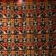 画像2: 昭和レトロ 幾何学 こたつカバー200×200cm [1198] (2)