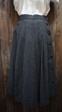 グレー ウールパンツ/w60cm [41199]