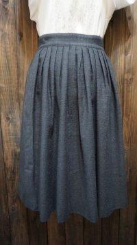 無地 グレー系  スカート/ 62cm [41763]