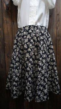花柄 フレア スカート/w66cm [41747]