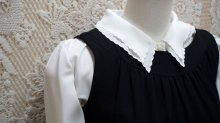 他の写真1: 黒 ジャンパースカート[52651]