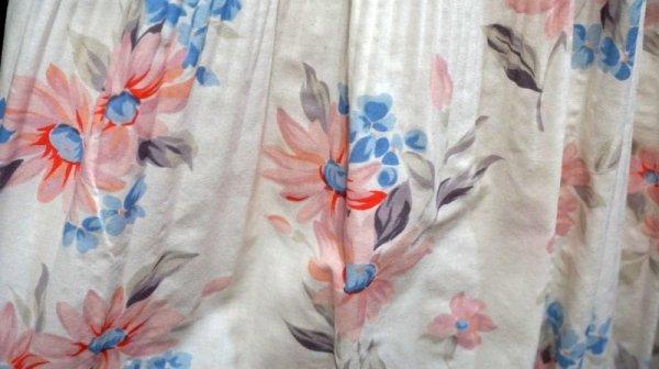 画像4: 花柄 ピンク コットン スカート /w58cm[41933]