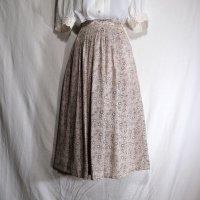 花柄 ピンク系 スカート フレア /w61cm[42074]