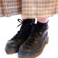 """""""ドクターマーチン"""" 黒 ブーツ UK5size 4ホール[1188]"""